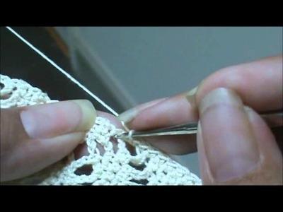 Diamond Lace Stitch part 3