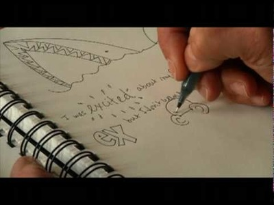 Doodlebug: An author interview and doodling tutorial with Karen Romano Young