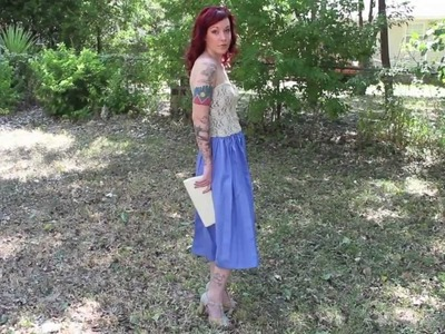 E.1 Anthropologie Spring Dress : Pschh I Can Make That