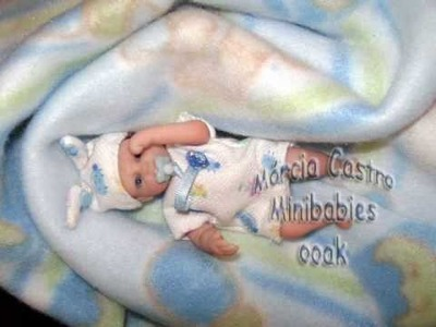 E-BOOK POLYMER CLAY BABIES ooak how to make