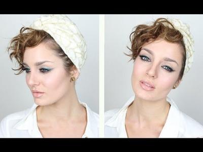 Eid Makeup: DIY coloured Eyeliner & Smokey Lower Lashes