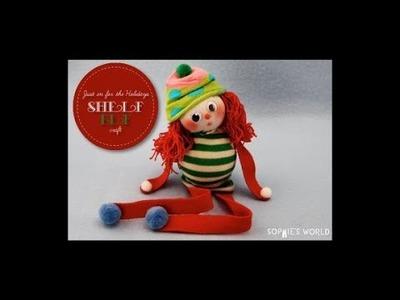 """Elf on a Shelf"" Sock Doll Sophie's World"