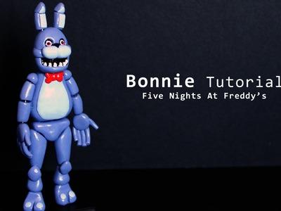 Five Nights at Freddy's Bonnie Polymer Clay Tutorial