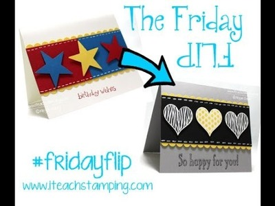 Friday Flip Card Making VideoTutorial
