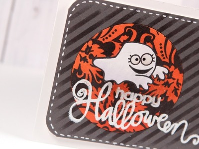Happy Halloween (Archived LIVE cardmaking) - Make a Card Monday #235
