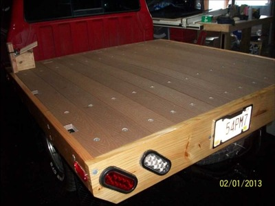 How to build a wooden bed for a Ford Ranger or a Mazda B2300 .wmv