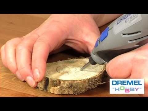 How to carve wooden decorations with the Dremel Stylus - Part One