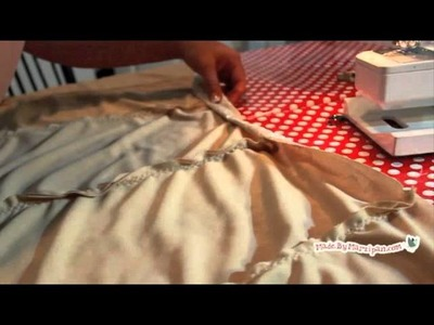 How To: Lace Skirt Tutorial