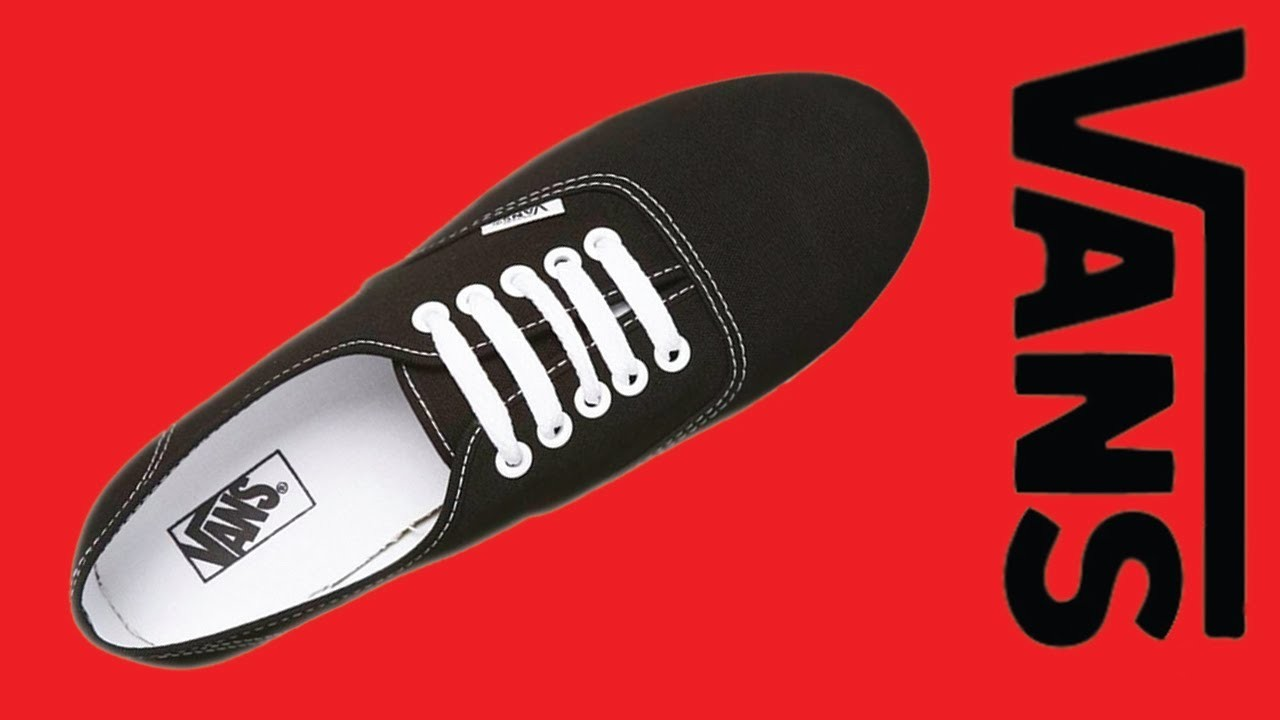 How to Lace Vans - Bar Lace (5 holes)