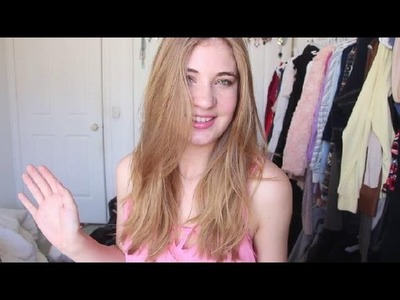 How To Lighten Your Hair Naturally! (no bleach required) - took me from brunette to blonde!