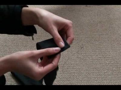 How to make a belt
