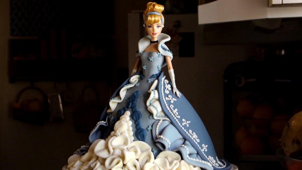 How to Make a Cinderella Cake | Become a Baking Rockstar