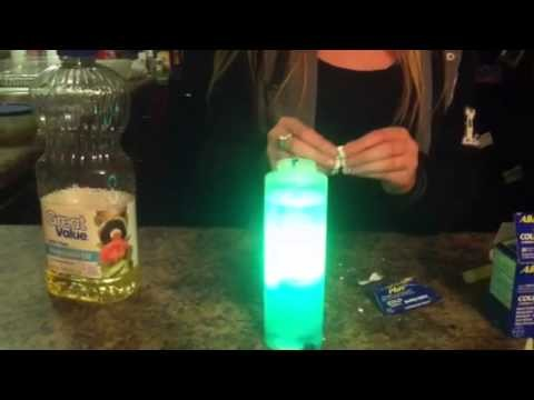 How to make a homeade lava lamp that lights up