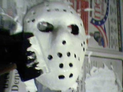 How to make a Jason Voorhees mask: THE EASIEST WAY!