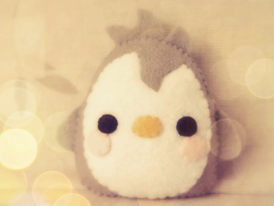 How To Make A Kawaii Baby Penguin Plushie Tutorial