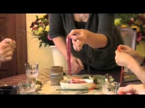 How To Make A Silk Flower Pen - Part 2
