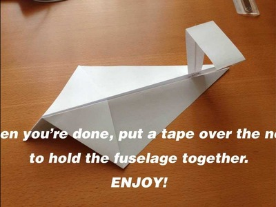 How to make a VERY simple ground effect vehicle (WIG) paper-plane style