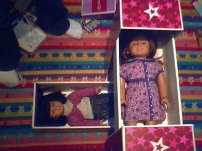 How To Make An American Girl Doll Bed