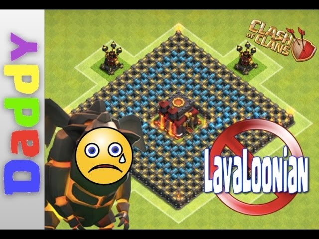 How to make an AWESOME Lavaloonian RESISTANT base in Clash of Clans