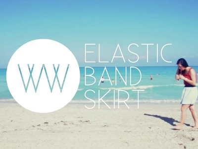 How to Make an Elastic Band Skirt