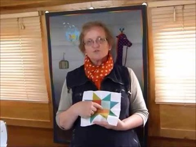 "How to make an ""Up-Size"" Star Quilt - Quilting Tips & Techniques 173"