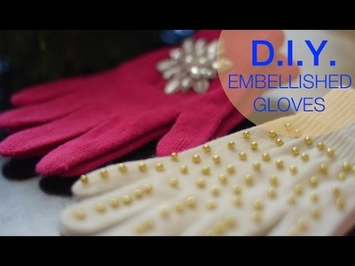 How to make embellished gloves | Nik Scott