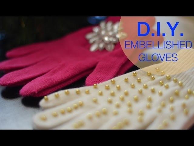 How to make embellished gloves | Nik Scott