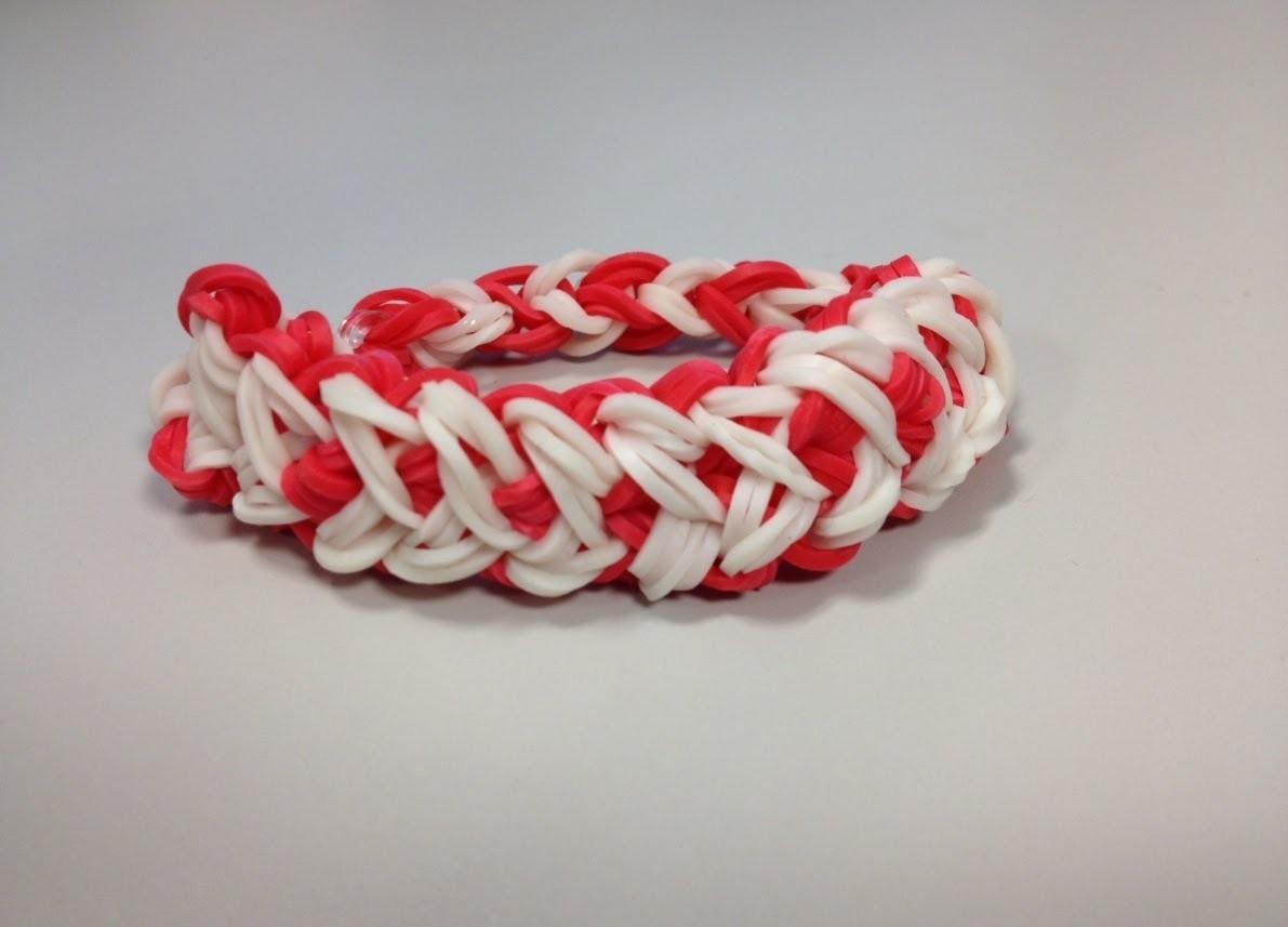 How To Make Heart Bracelet | Design Rubber Band Heart Bracelets on Bandaloom
