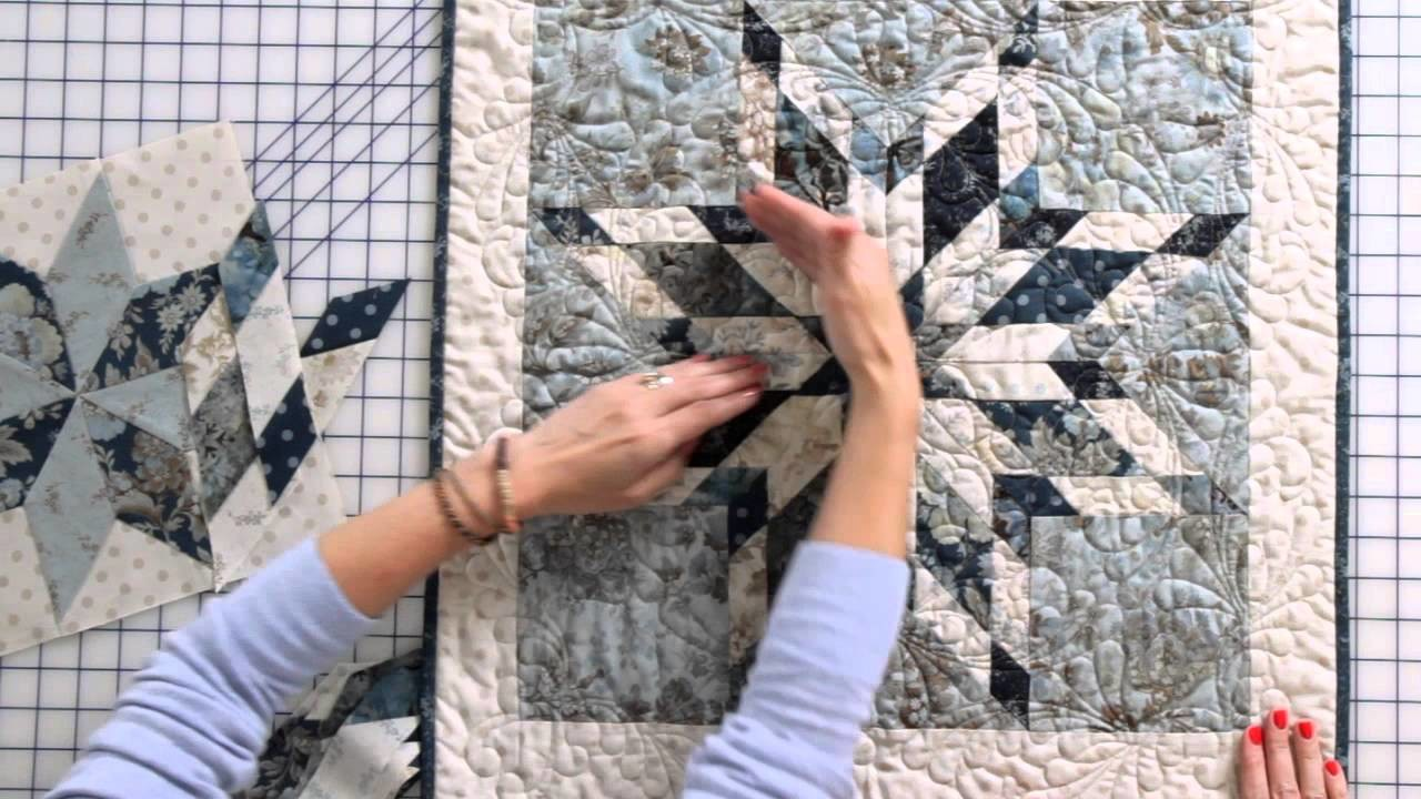 How to Sew an Intermediate Eight-Point Star Quilt Block by Edyta Sitar -- Fat Quarter Shop