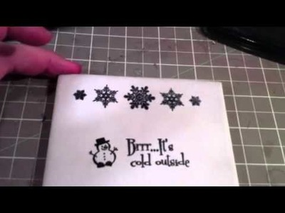 How to stamp on ceramic tile