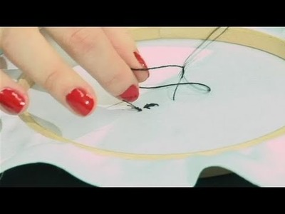 How To Stitch Blackwork Embroidery