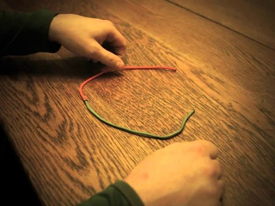 How to Tie A One Handed Square Knot - Part Three