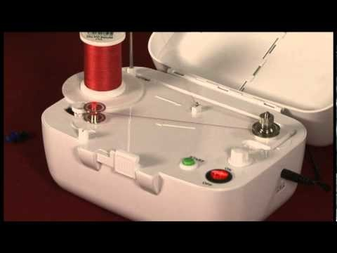 How to use Simplicity's Sidewinder Portable Bobbin Winder