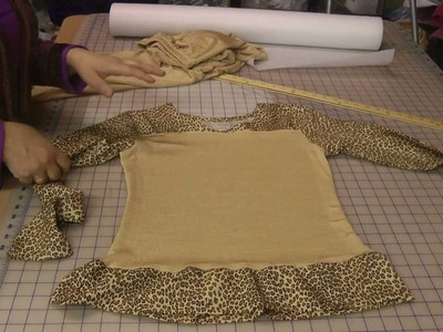 Making simple skirt suit