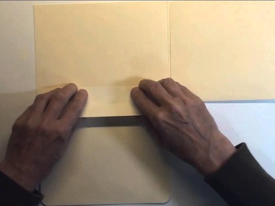Manila folders for mini tutorial