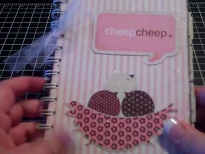 My altered notebook!