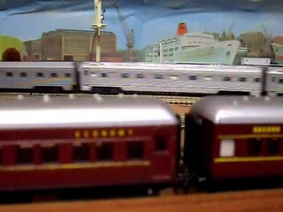 My Model Trains - 2xGM on the Indian Pacific x's ANR Freight