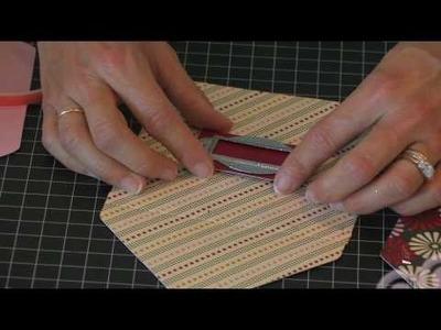 Photo CD Memory Box (Step 5)- Using Making Memories Metal Label Holders