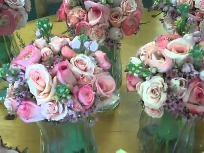 Pink & White Wedding Flowers for Villanova PA