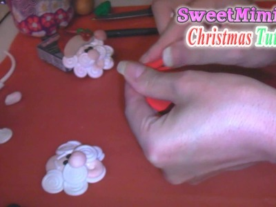 Polymer Clay Christmas Santa Ornament Tutorial