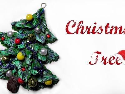 Polymer Clay Tutorial  - Christmas Tree