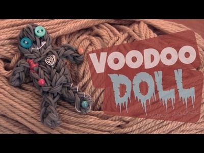 Rainbow Loom : VooDoo Doll Charm - How To