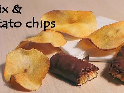 'Realistic' Polymer clay Twix & Potato Chips Tutorial