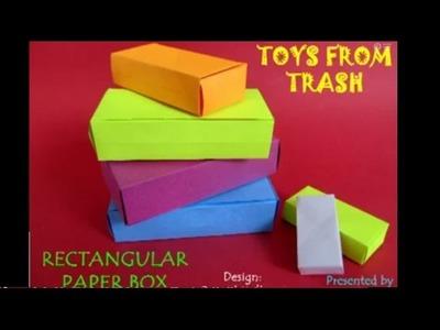 RECTANGULAR PAPER BOX - ENGLISH - 26MB