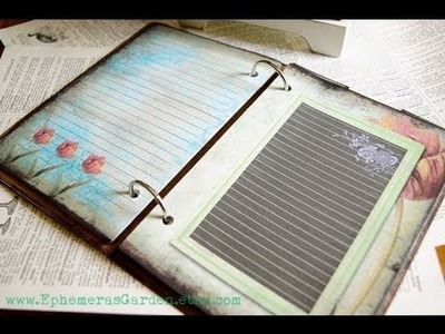 'Sew Pretty' Printable Journal Kit - Ephemera's Vintage Garden