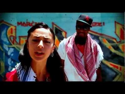 Shadia Mansour Ft M1 of Dead Prez - Al Kuffiyeh 3Arabeyyeh (OFFICIAL VIDEO)