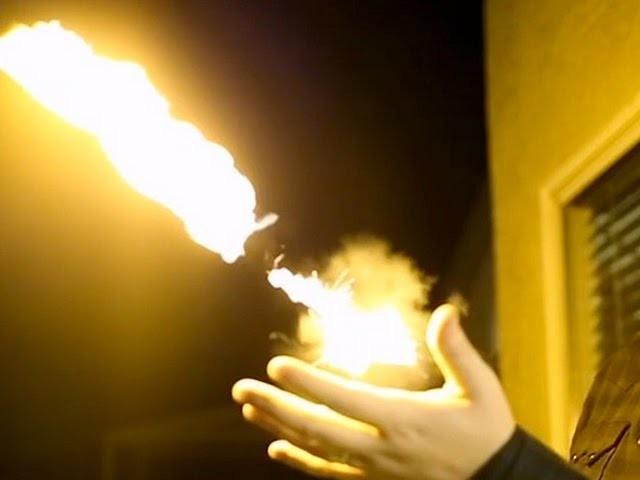 SHOOT FIREBALLS FROM YOUR HAND -- LÜT #47