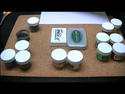 Stamp embossing- the basics part 2