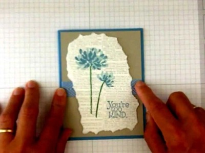 Stampin Up Tips for Using the Stamp-a-ma-jig with Too Kind