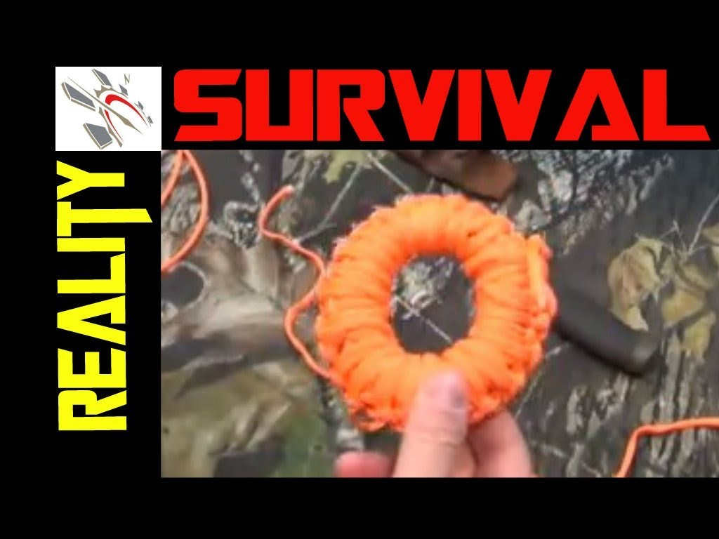 Survival Kit Tips: How To Make A Paracord Donut